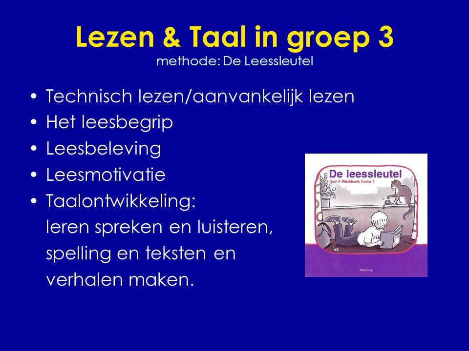Lezen & Taal in groep 3 methode: De Leessleutel