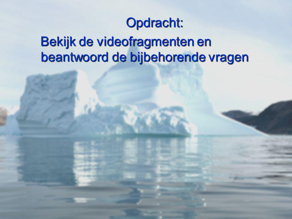 Opdracht: Bekijk de videofragmenten en beantwoord de bijbehorende vragen