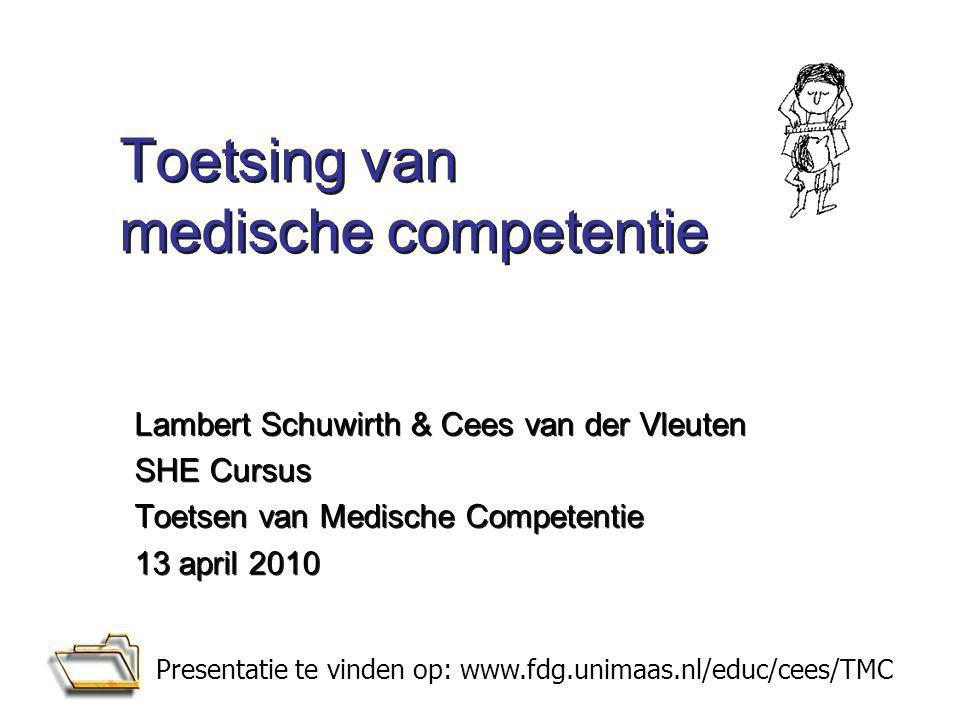 Toetsing van medische competentie