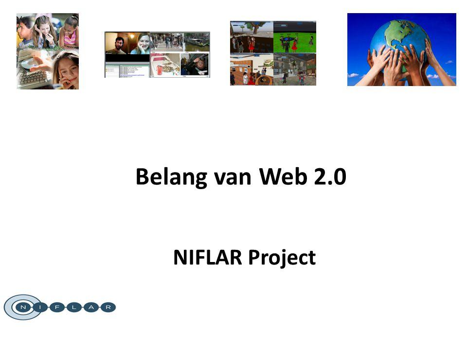 Belang van Web 2.0 NIFLAR Project