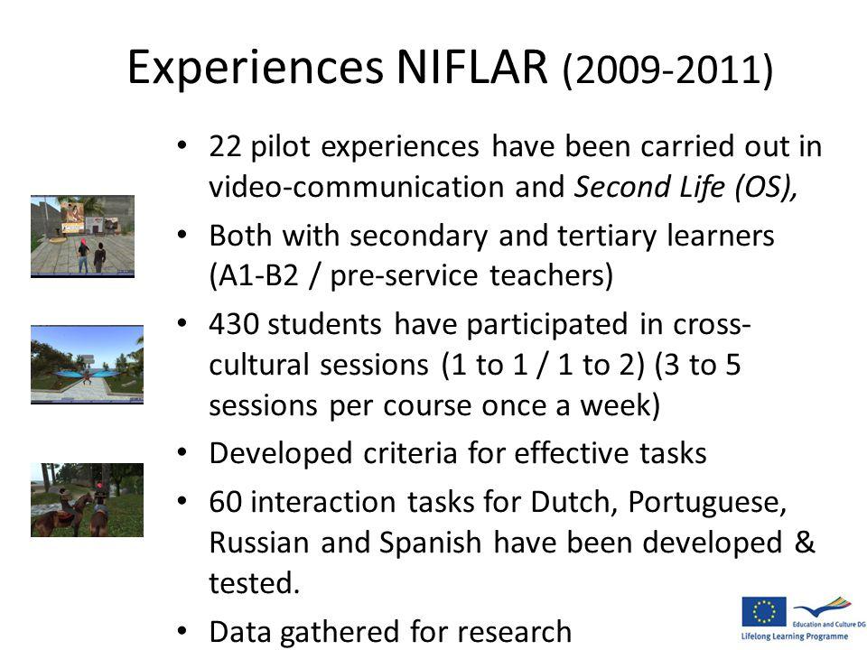 Experiences NIFLAR (2009-2011)