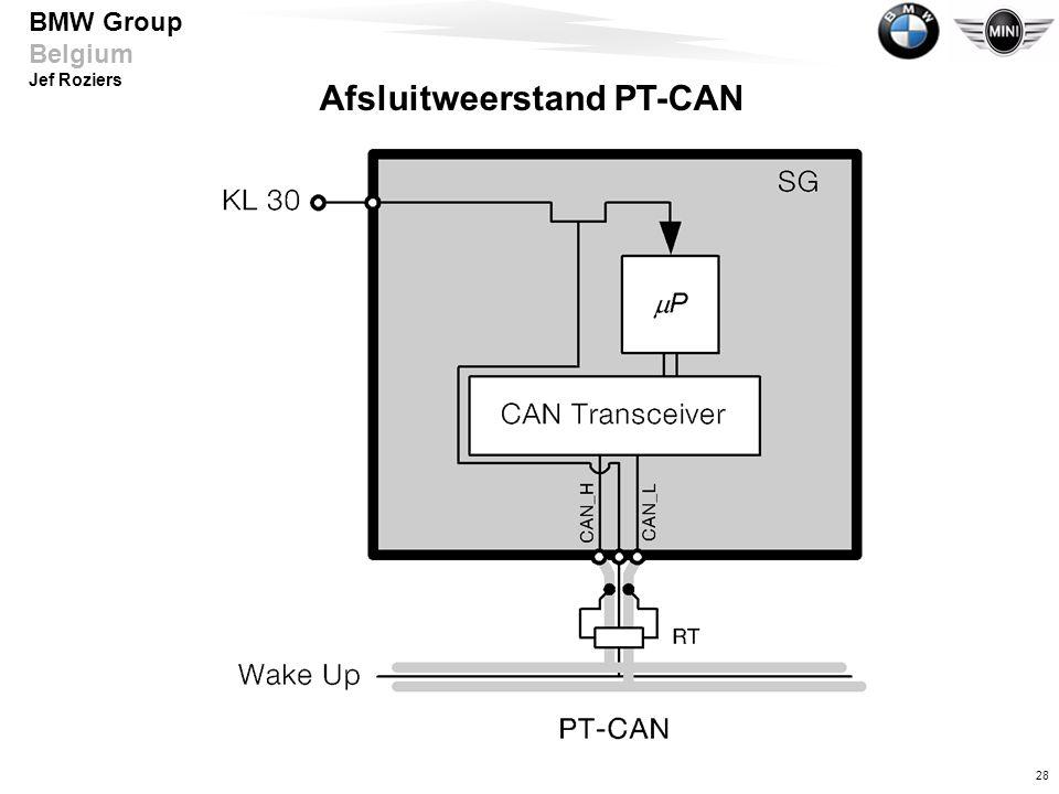 Afsluitweerstand PT-CAN