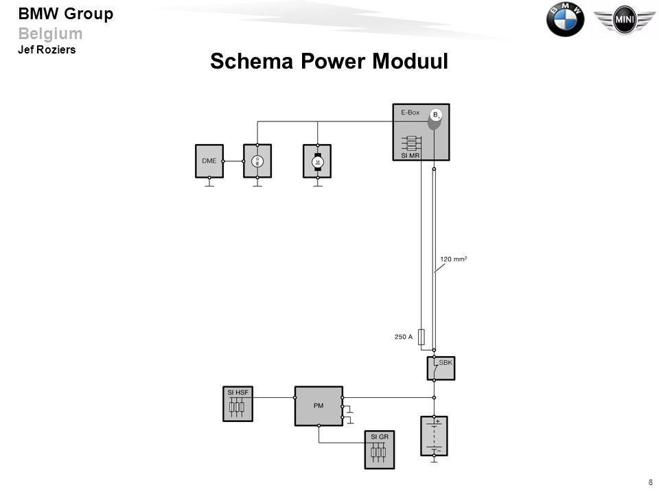 Schema Power Moduul Aufgaben/Funktionen Optimales Laden der Batterie