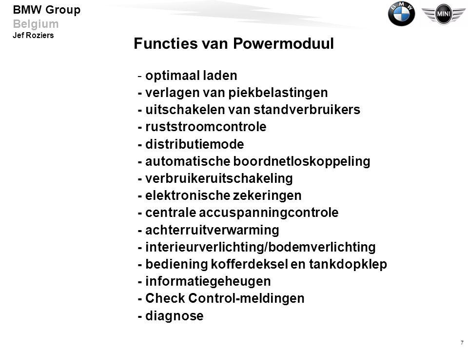 Functies van Powermoduul