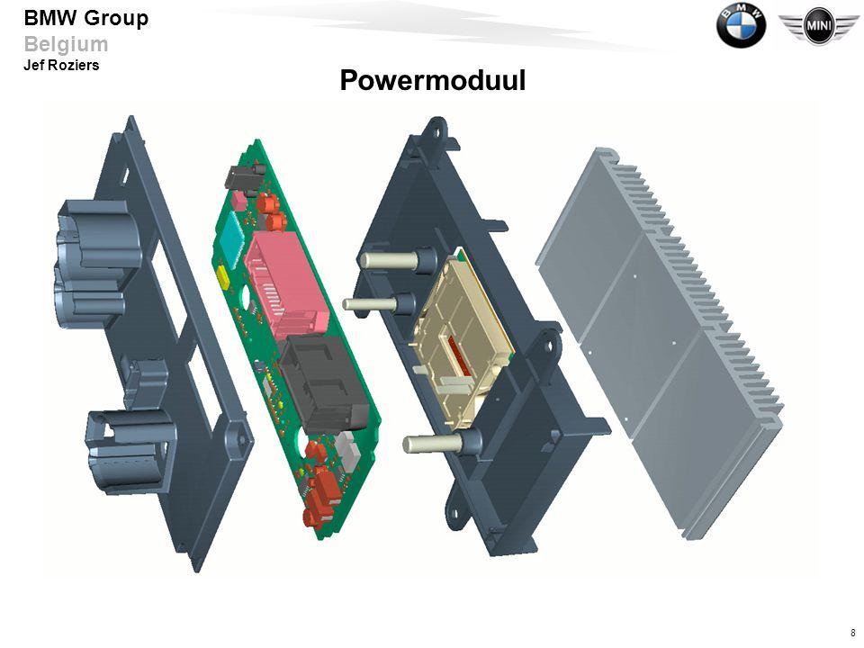 Powermoduul Spannungsversorgung mittels Power Modul
