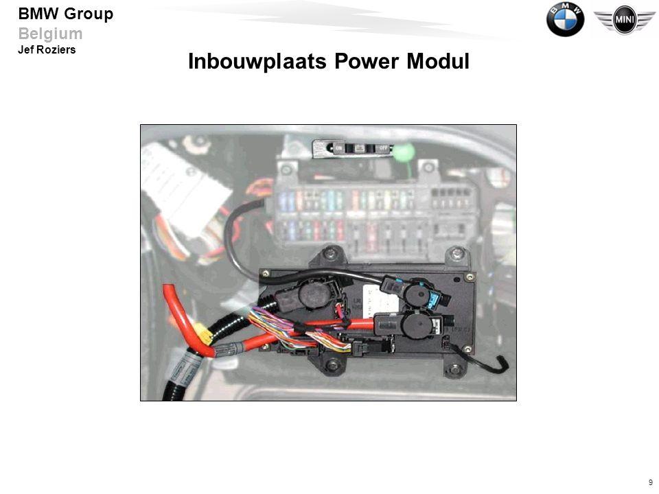 Inbouwplaats Power Modul
