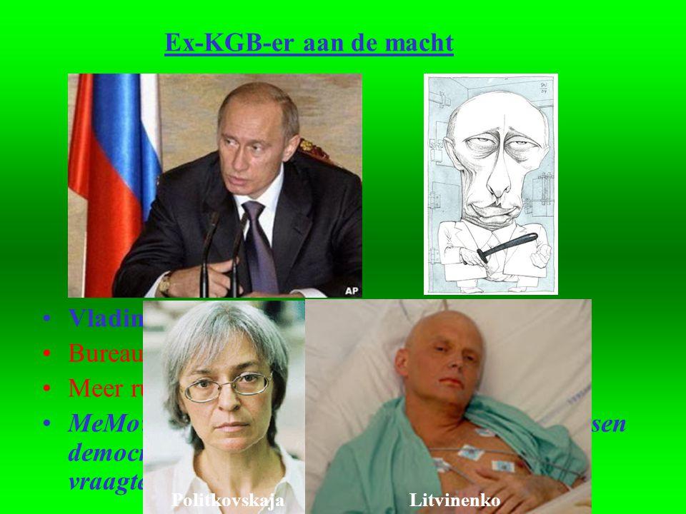 Vladimir Poetin: degrijze kardinaal Bureaucraat