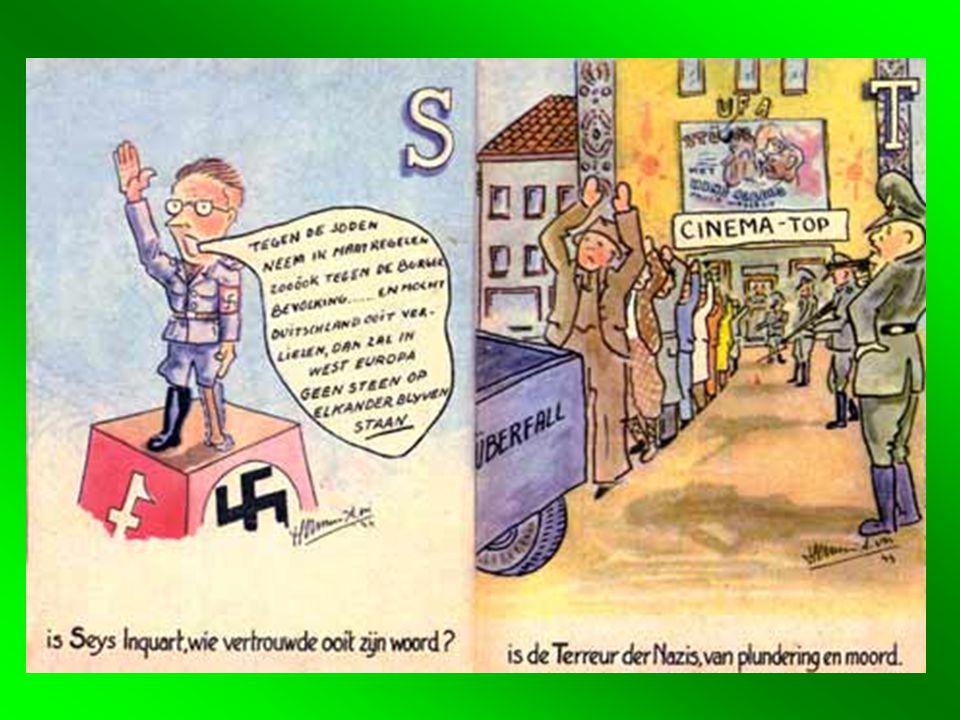 1.3 Rijkscommissaris voor Nederland: Seyss Inquart Bestuur: fluwelen aanpak Gelijkschakeling