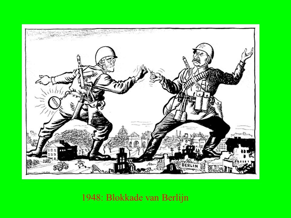 1948: Blokkade van Berlijn