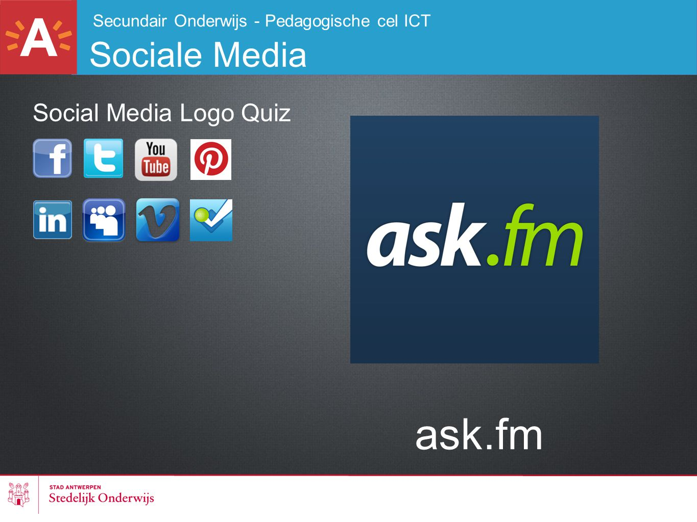 ask.fm Sociale Media Social Media Logo Quiz