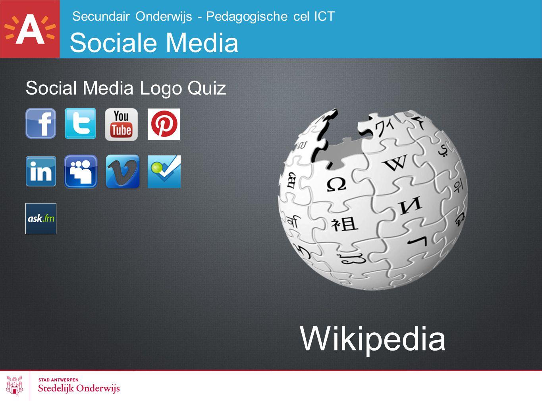 Wikipedia Sociale Media Social Media Logo Quiz