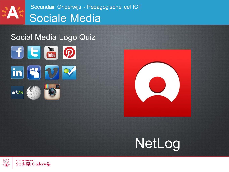 NetLog Sociale Media Social Media Logo Quiz