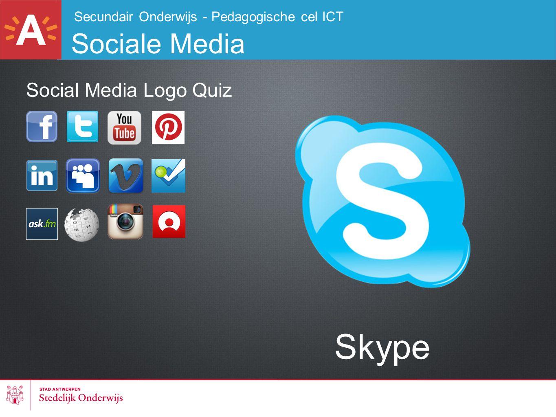 Skype Sociale Media Social Media Logo Quiz