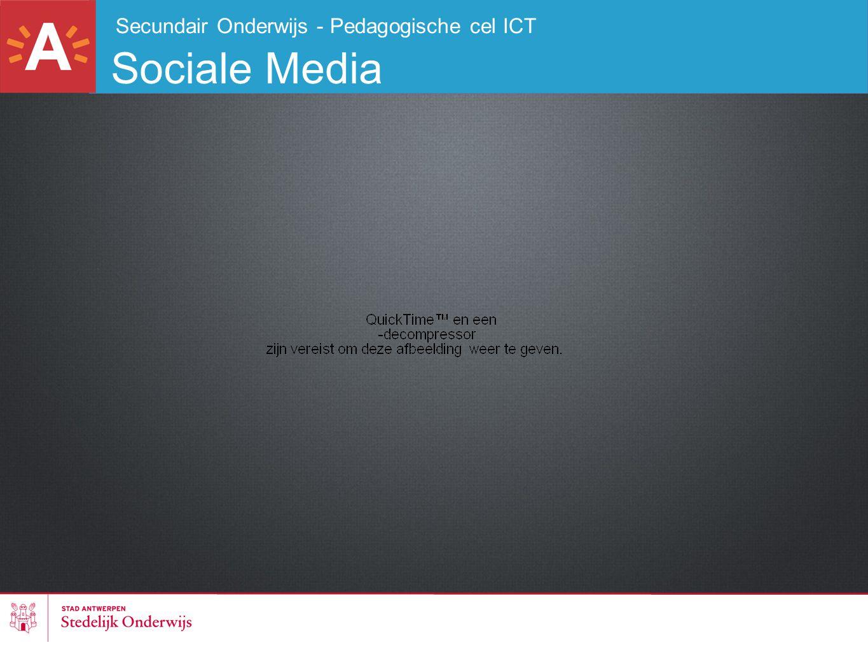 Secundair Onderwijs - Pedagogische cel ICT