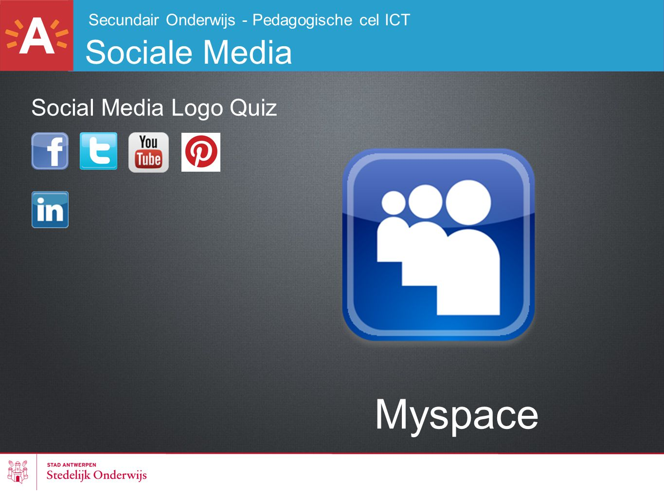 Myspace Sociale Media Social Media Logo Quiz