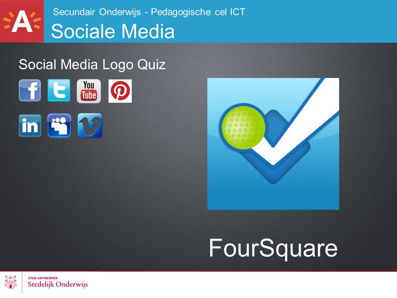 FourSquare Sociale Media Social Media Logo Quiz