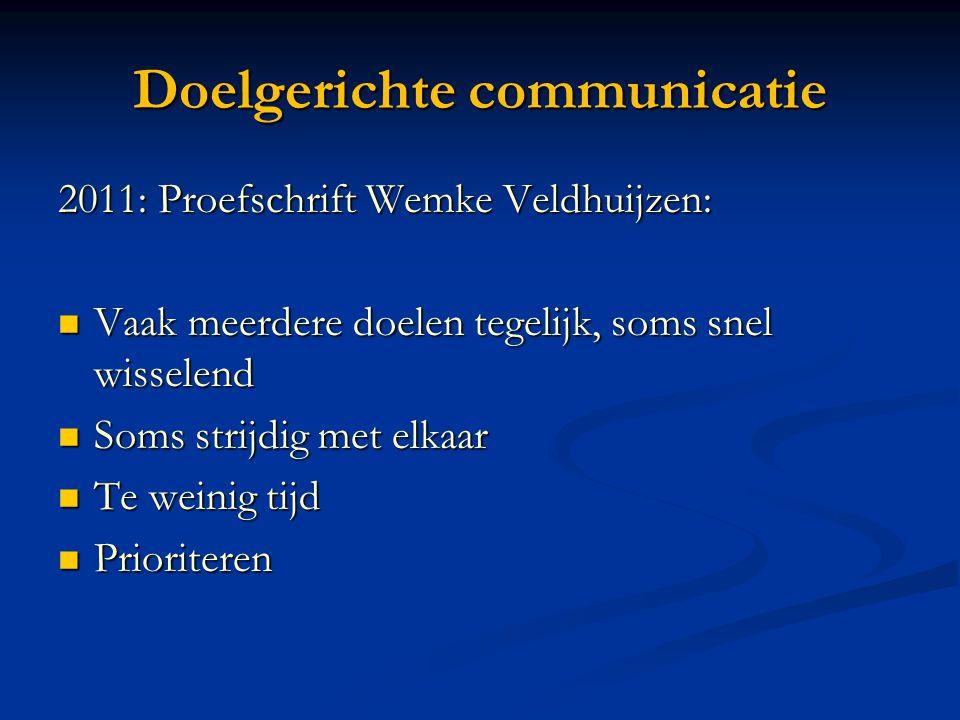Doelgerichte communicatie