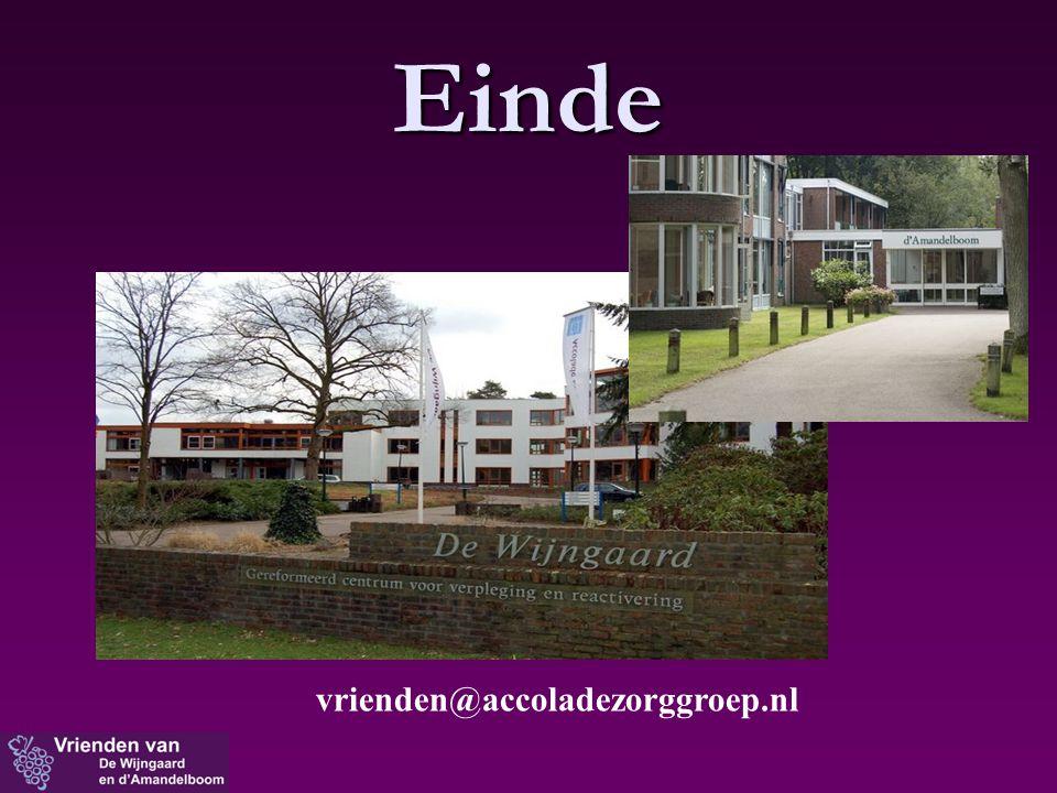 Einde vrienden@accoladezorggroep.nl