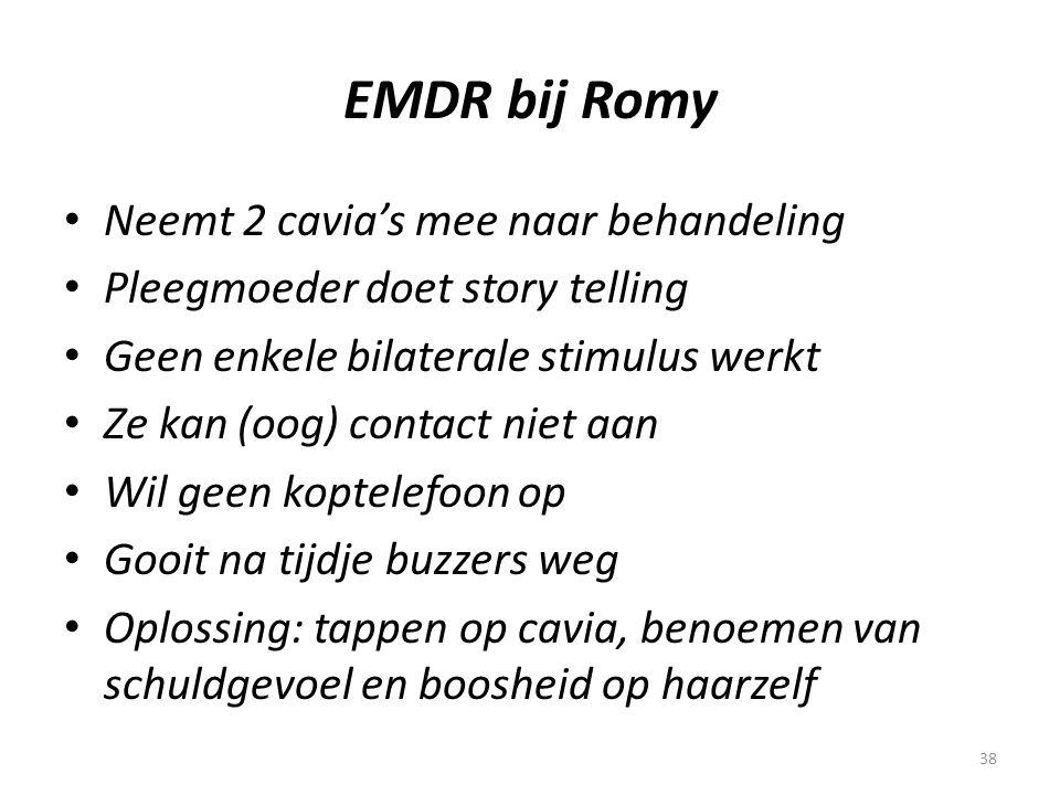 EMDR bij Romy Neemt 2 cavia's mee naar behandeling