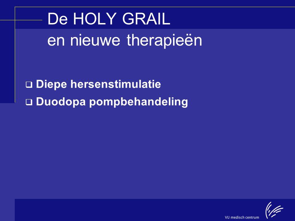 De HOLY GRAIL en nieuwe therapieën