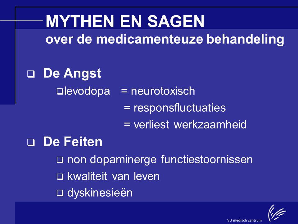MYTHEN EN SAGEN over de medicamenteuze behandeling
