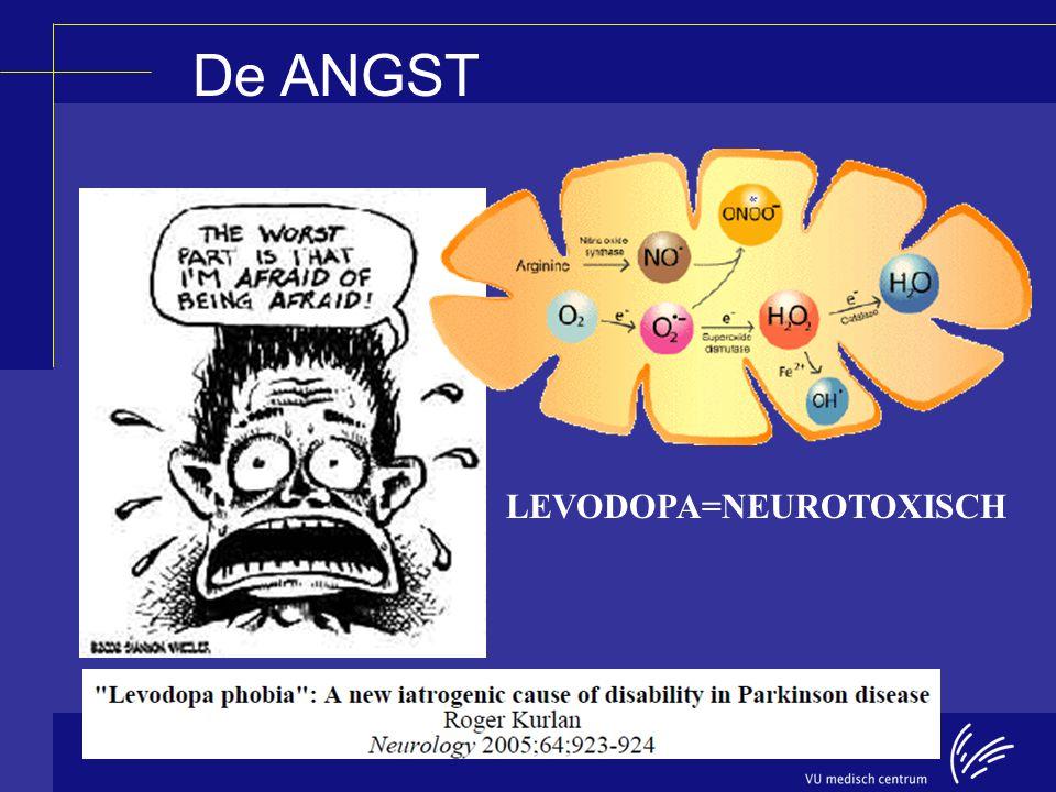 De ANGST LEVODOPA=NEUROTOXISCH