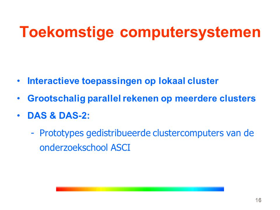 Toekomstige computersystemen