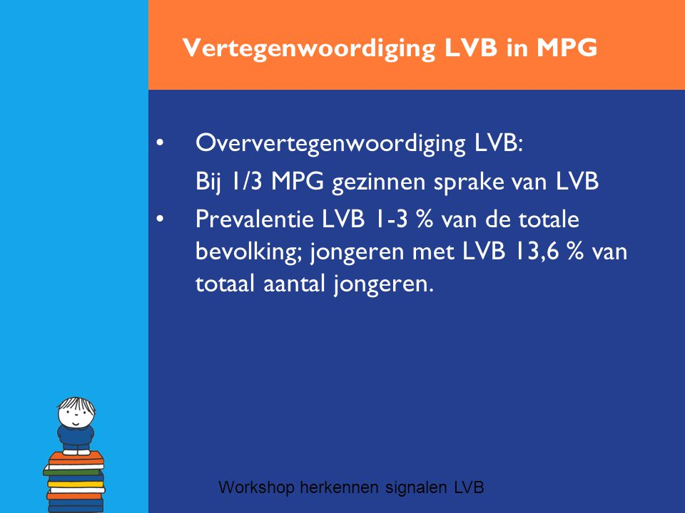 Vertegenwoordiging LVB in MPG