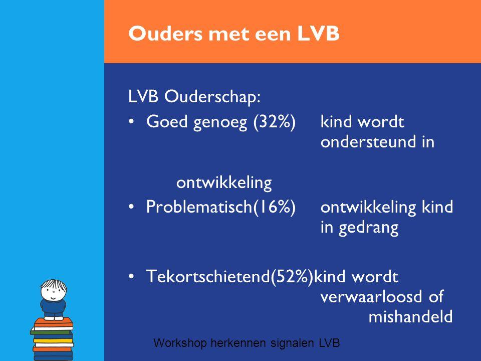 Ouders met een LVB LVB Ouderschap: