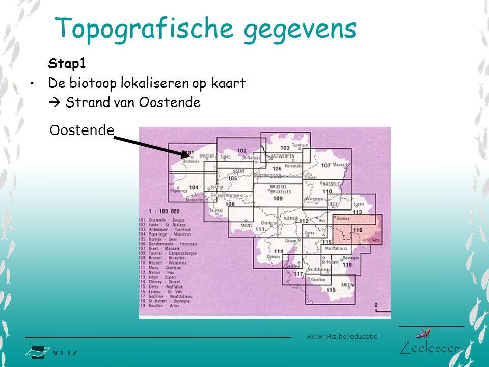 Topografische gegevens