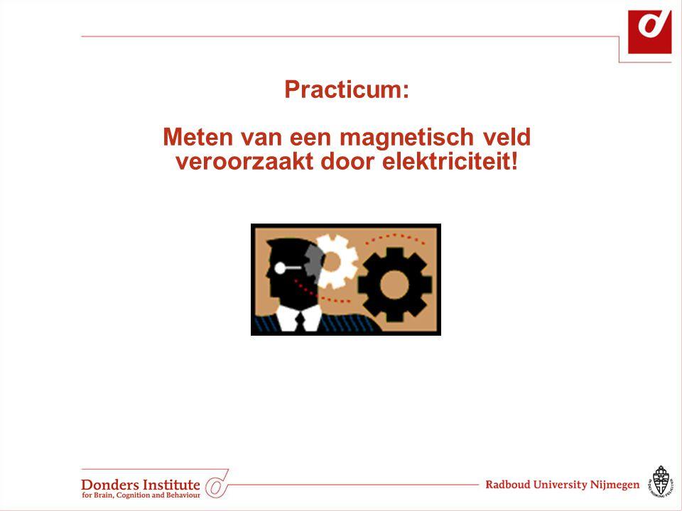 Practicum: Meten van een magnetisch veld veroorzaakt door elektriciteit!