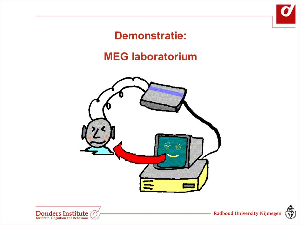 Demonstratie: MEG laboratorium