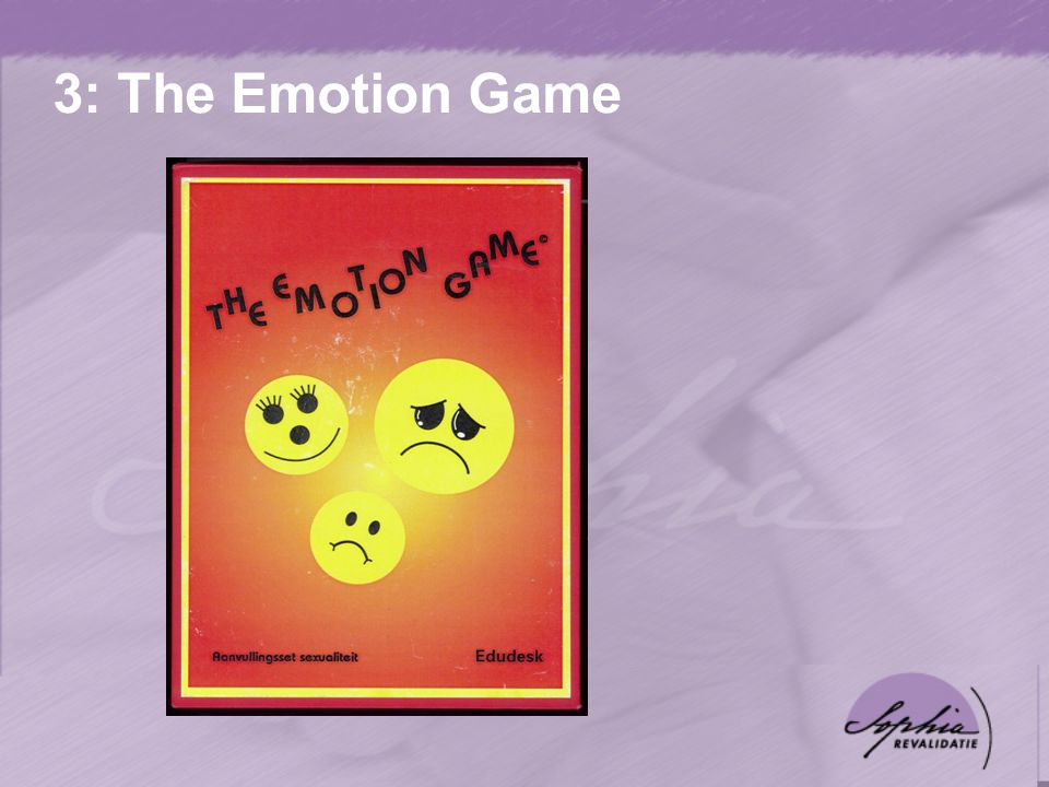 3: The Emotion Game