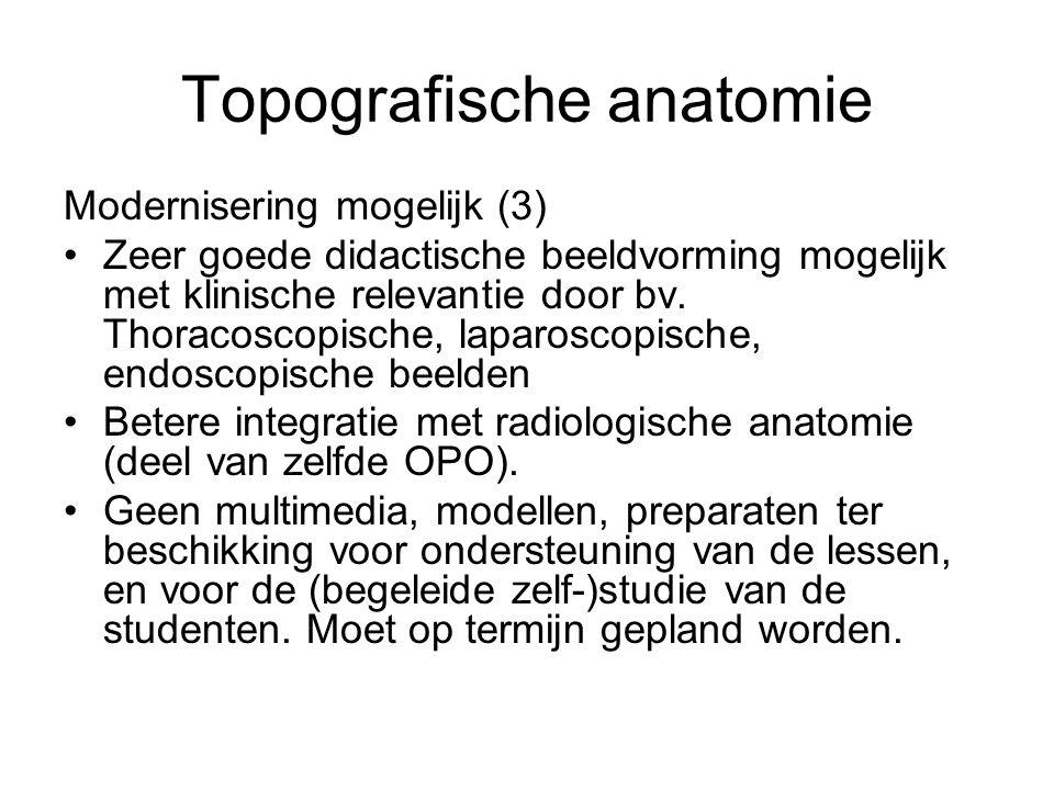 Topografische anatomie