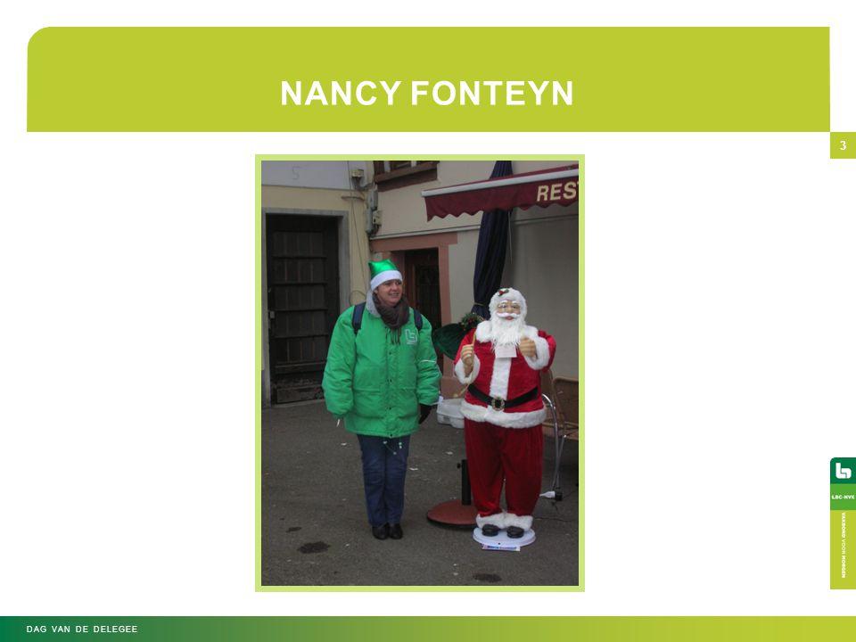 NANCY FONTEYN Dag van de Delegee