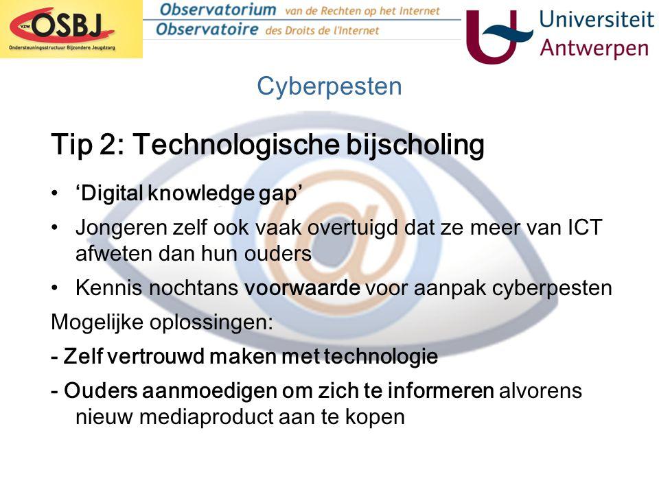 Tip 2: Technologische bijscholing