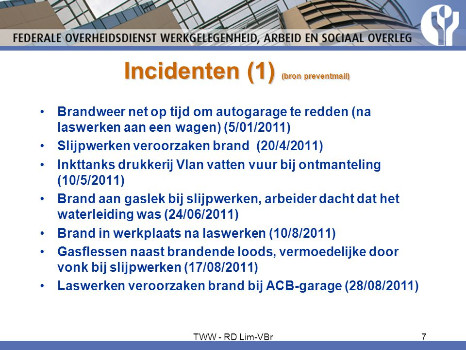 Incidenten (1) (bron preventmail)