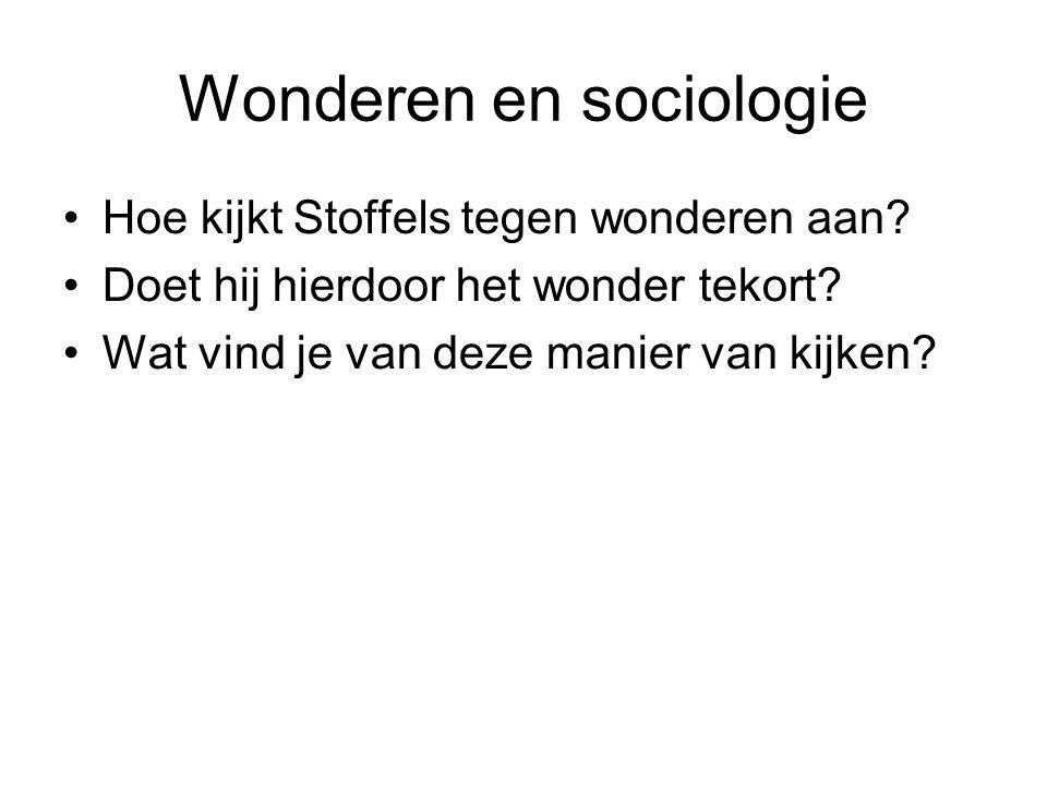 Wonderen en sociologie