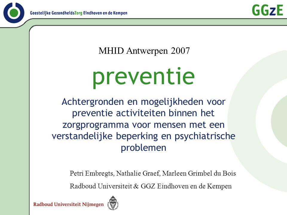 preventie MHID Antwerpen 2007