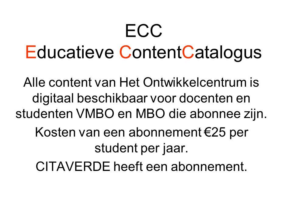 ECC Educatieve ContentCatalogus