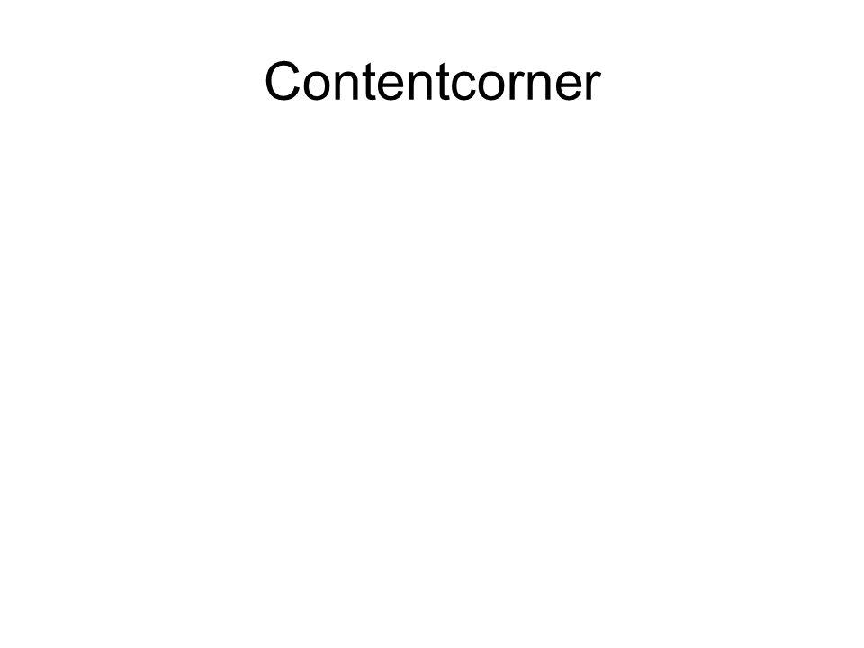 Contentcorner