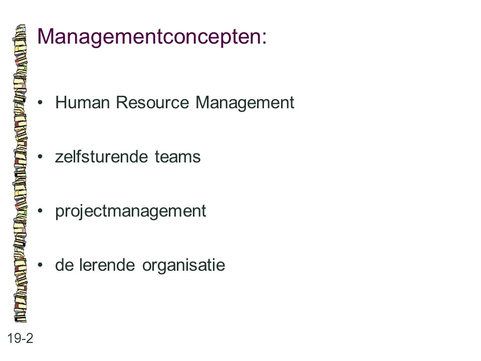 Managementconcepten: