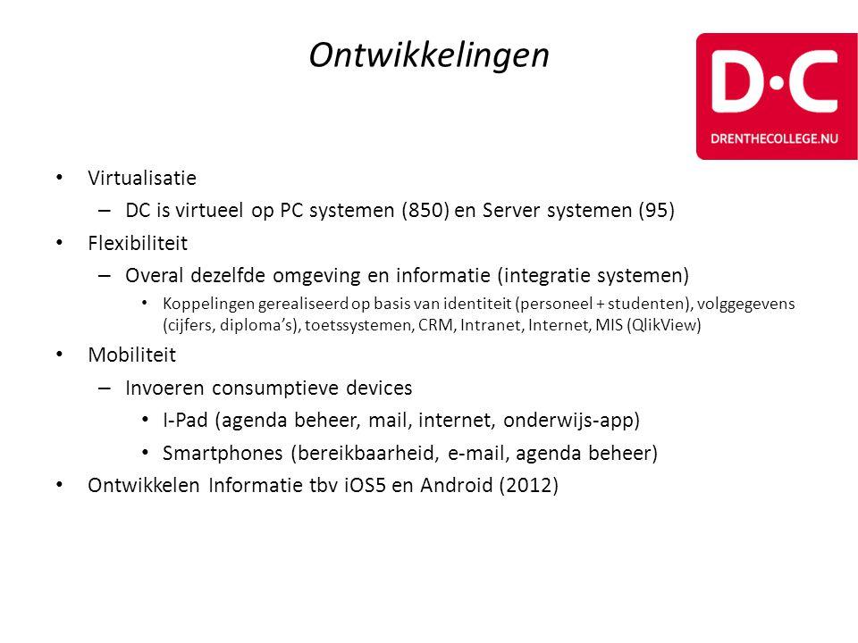 Ontwikkelingen Virtualisatie