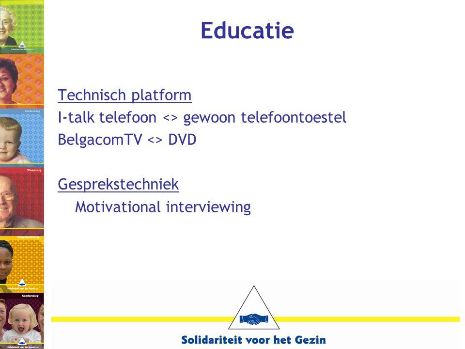 Educatie Technisch platform