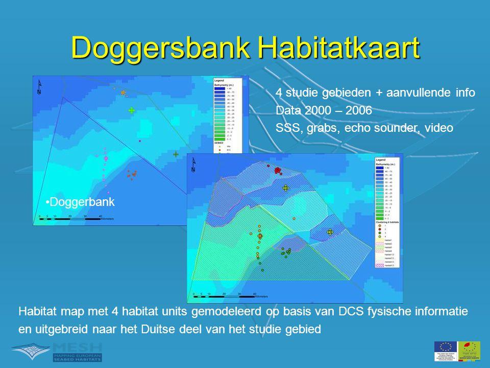 Doggersbank Habitatkaart