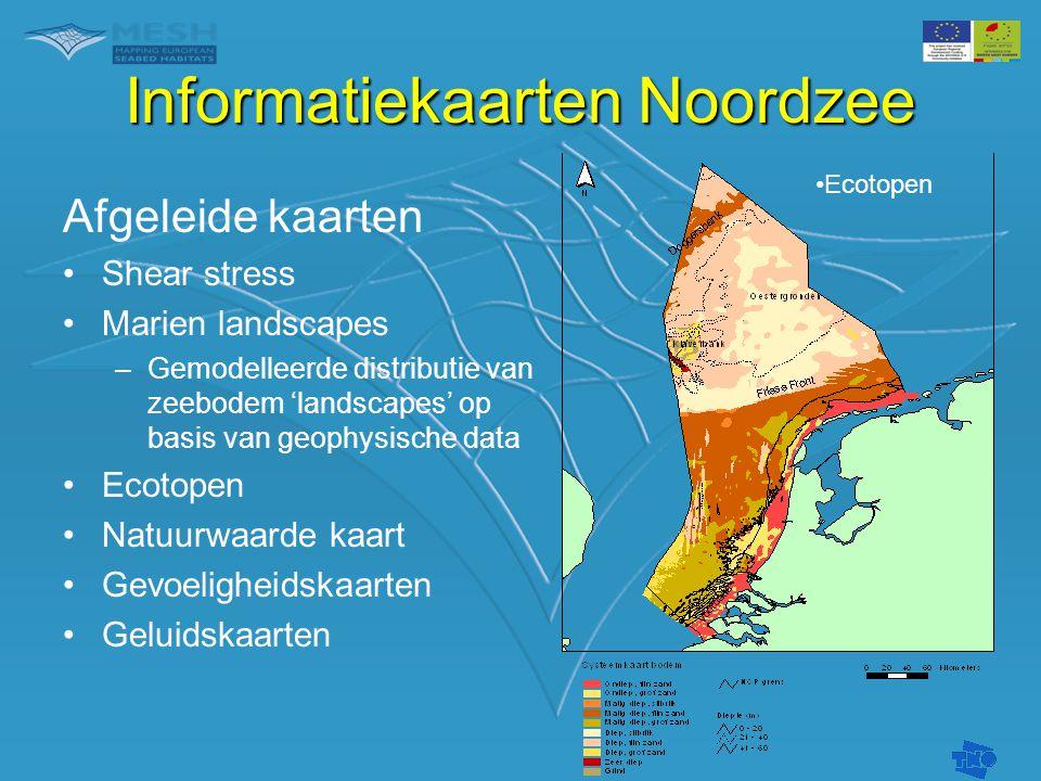 Informatiekaarten Noordzee