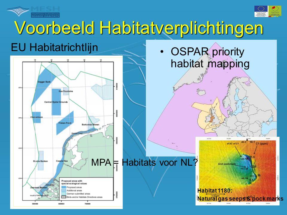 Voorbeeld Habitatverplichtingen