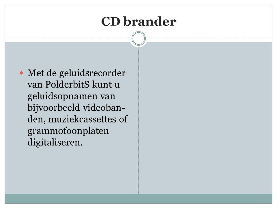 CD brander
