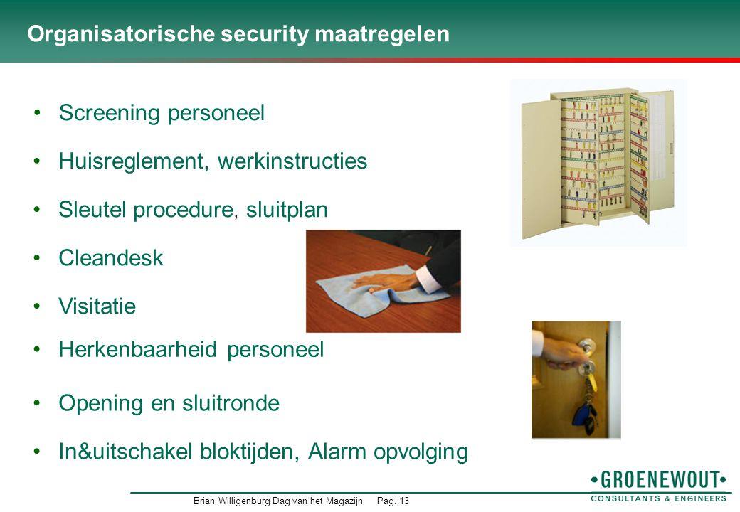 Organisatorische security maatregelen