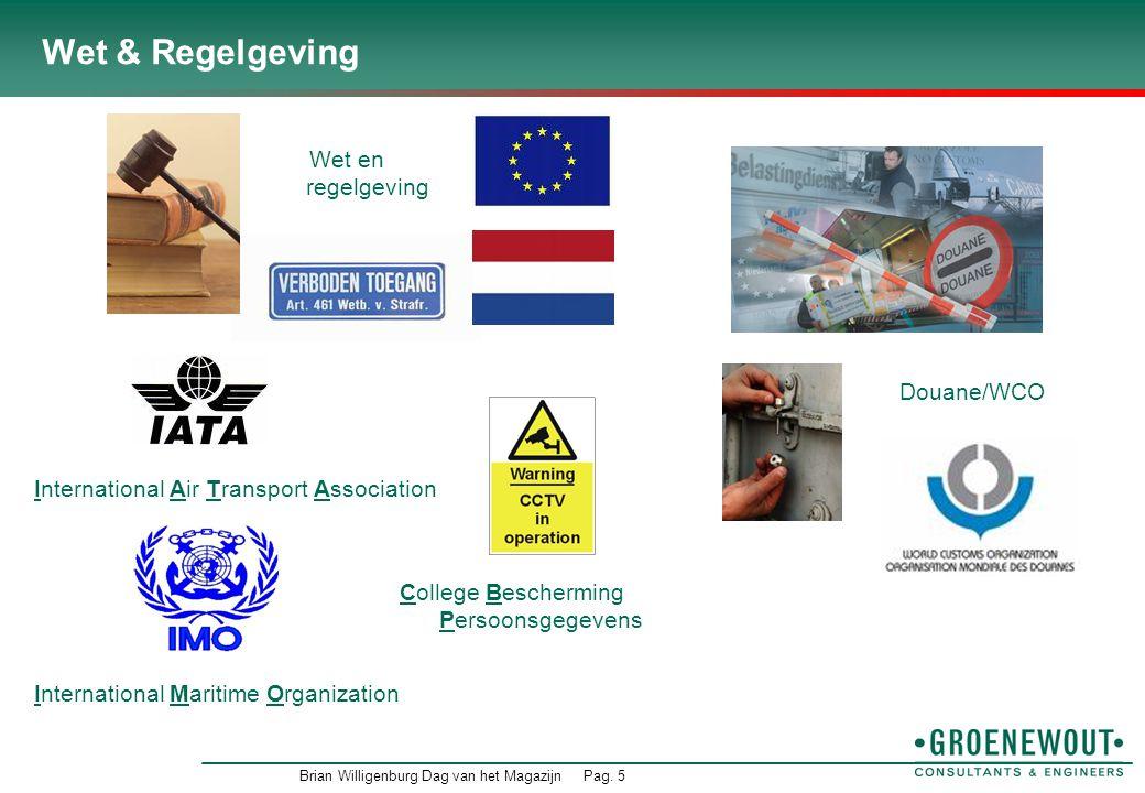 Wet & Regelgeving Wet en regelgeving Douane/WCO